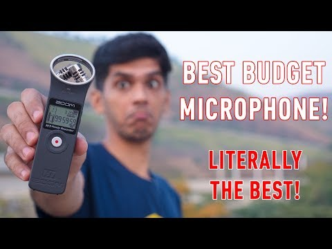 Zoom H1 Review in 2018! Microphone which I use for everything!