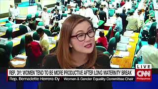 House approves extended maternity leave on 2nd reading