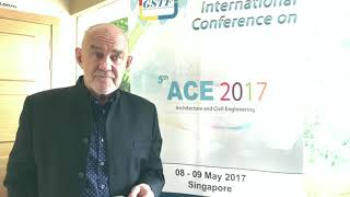 Prof. Robert Powell at ACE Conference 2017 by GSTF Singapore