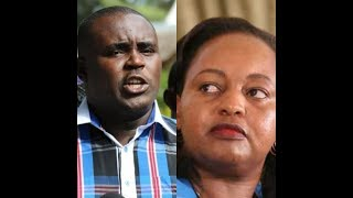 Senator Malala drags Waiguru into latest NYS scandal, wants MCAs to impeach her
