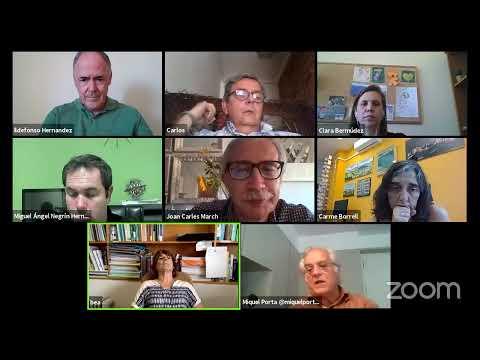 Entrevista Carlos Alverez-Dardet, Miguel Angel Negrín y Clara Bermúdez Tamayo