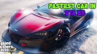 GTA 5 ONLINE NEW FASTEST CAR!!!! (Italia GTB!)