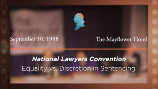 Click to play: Equality vs. Discretion in Sentencing [Archive Collection]