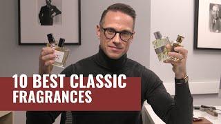 Top 10 Best CLASSIC Mens Fragrances | Most Complimented Fragrances