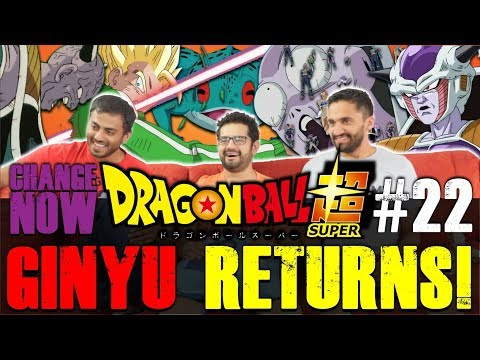Dragon Ball Super ENGLISH DUB - Episode 22 - GROUP REACTION + Discussion