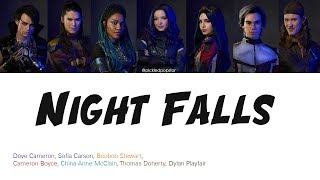 Night Falls   Descendants 3 Cast (Color Coded Lyrics)