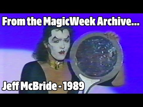 Jeff McBride - Magician - The Hippodrome Show - 1989