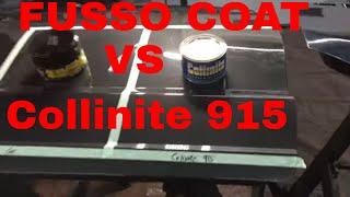 Collinite 915 Concours Wax VERSUS Fusso Coat Soft99!! A Tenatious WAX Battle!!!