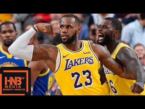 Los Angeles Lakers vs Golden State Warriors Full Game Highlights | 10.10.2018, NBA Preseason