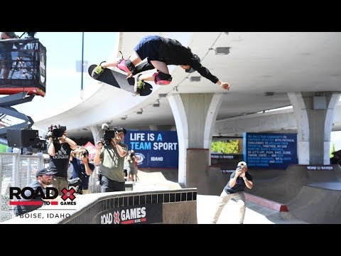 REPLAY: Women's Skateboard Park | Road to X Games Boise Qualifier 2019