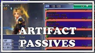 Best Artifact Passives - Dissidia Final Fantasy Opera Omnia