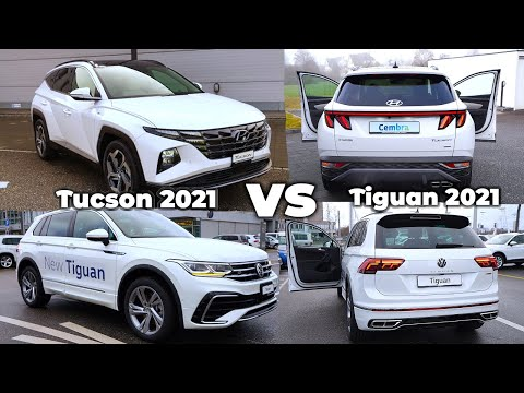 Hyundai Tucson vs Volkswagen Tiguan R-Line 2021