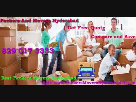 Local Packers And Movers Hyderabad | 100% Safe And Trusted Shifting Services