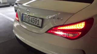 CLA45 AMG | Parkhaus Acceleration & Revs #7