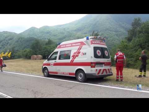 Le operazioni di soccorso alla donna dispersa e ritrovata a Ottone