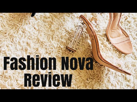 Fashion Nova Strappy Heel try on Review 2018