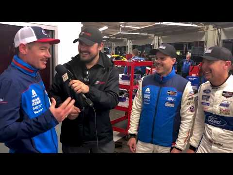 Matching Mustaches for Ford Chip Ganassi Racing at Daytona