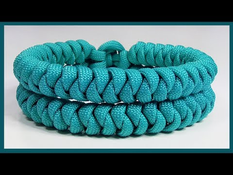 Paracord Bracelet Tutorial: \