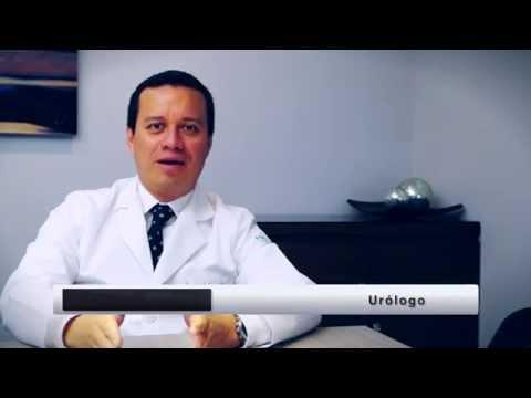 Acumulación de secreciones de la próstata