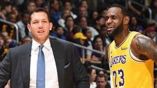 Luke Walton Expects To Coach Lakers Next Year! 2018-19 NBA Season