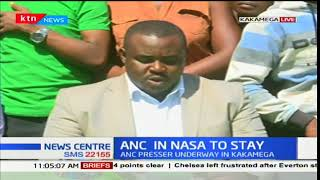ANC party officials demand NASA leaders to squash alleged Cartel of Jubilee sympathizers in ANC