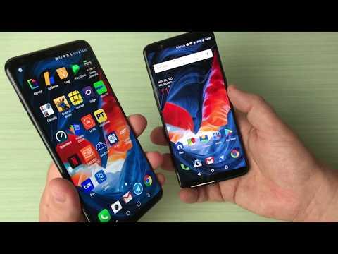Foto LG V30 vs OnePlus 5T, stessa anima ma prezzo diverso