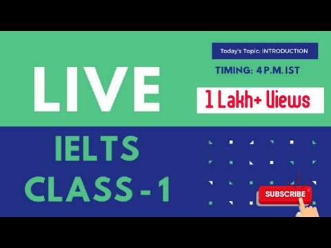 IELTS Free LIVE Class | Day 1 | Introduction to IELTS | Both GT AND Academic | Band 9 Target