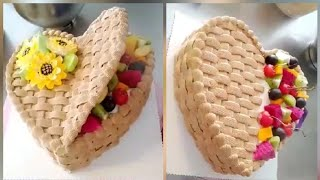 Icing Ideas For HEART Shaped Cakes