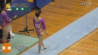 2017 IWASA Akane 岩佐茜 Synchronized Floor Music