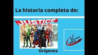 Liga de la Justicia Orígenes
