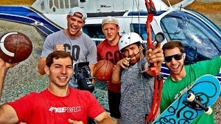 Extreme Trick Shots   Dude Perfect