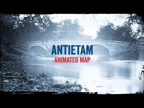 Antietam: Animated Battle Map