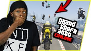 """MY """"FRIENDS"""" ARE PLOTTING AGAINST ME! - GTA Online Race Gameplay"""