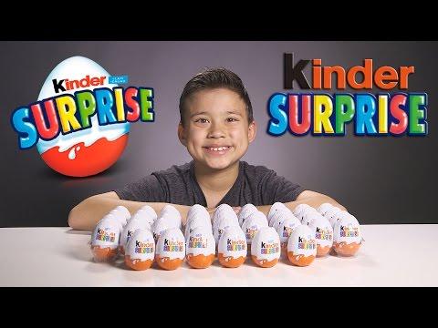 KINDER SURPRISE EGGS!!!  Let's Crack 'Em Open!