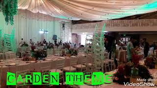 GARDEN THEME - Birthday Party Set-up For Adults (Banquet Catering 25)