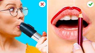 ГЕНИАЛЬНЫЕ БЬЮТИ-СОВЕТЫ ДЛЯ УМНИЦ || Классные советы по макияжу и уходу за собой!