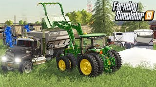 PLANTING PREP FOR THE FIELDS (ROLEPLAY) FARMING SIMULATOR 19