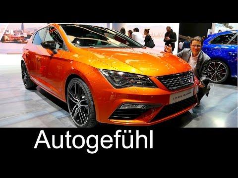 Seat Leon Cupra 300 REVIEW hatch vs estate Colour and trim Special - Autogefühl