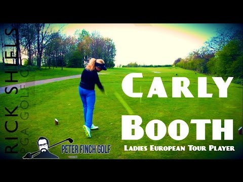 CARLY BOOTH – PRO GOLFER COURSE VLOG