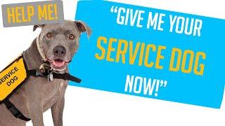 """Entitled Parents Reddit - """"GIVE ME YOUR SERVICE DOG, NOW!"""" (Reddit Entitled Parents)"""