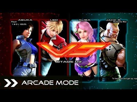 Tekken Tag Tournament 2 Walkthrough Asuka Leo Vs Roger Jr Steve Fox Stage 1 Arcade Mode By Gameoxotv Game Video Walkthroughs