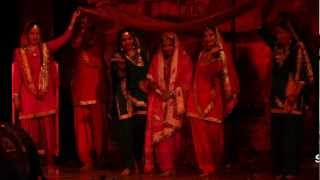 gidha - bhangra  dance performance by step 2 step dance studio, 09888697158