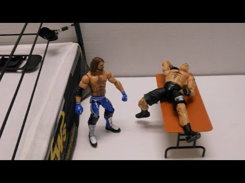 JWS - AJ Styles vs Brock Lesnar (EXTREME RULES MATCH)