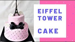 🍰🎂 EIFFEL TOWER CAKE / TORTA DE TORRE EIFFEL PECADITOS COLOMBIA 🍰🎂