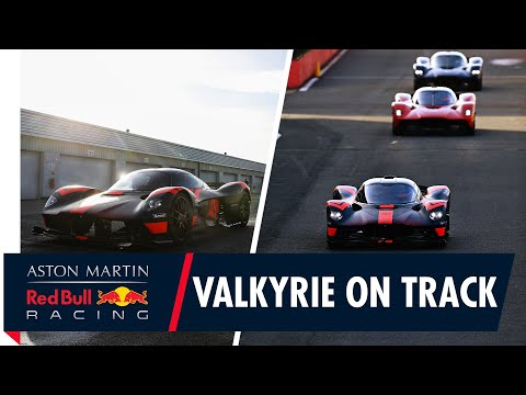 Valkyrie on track | Verstappen and Albon drive the hypercar for the first time