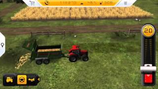 Farming Simulator 14 - Gameplay on iPhone 5s