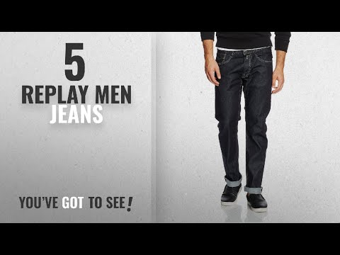 Top 10 Replay Men Jeans [ Winter 2018 ]: Replay Men's Newbill Comfort Fit Jeans, Blue, 30W x 30L