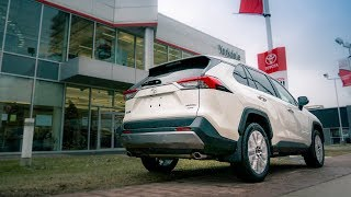 Toyota Rav4 2019 Specs On Trim Package Options