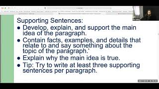 How to Write a Paragraph in English - ESL Level 4
