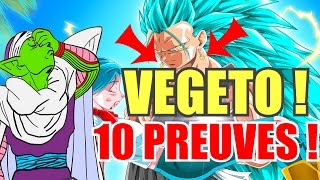 VEGETTO VS ZAMASU FUSIONNÉ (GOKU BLACK/ZAMASU) EN 10 PREUVES ! DRAGON BALL SUPER - Prophétie#8